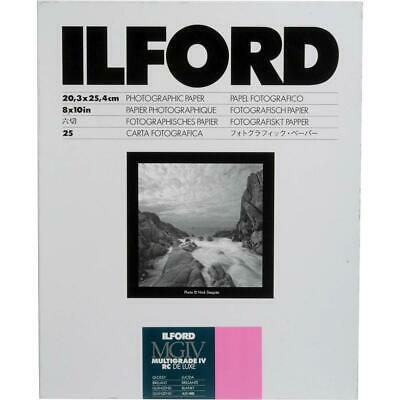Ilford IV RC Deluxe Resin B/W Paper 8x10in, 25, Glossy #1168190