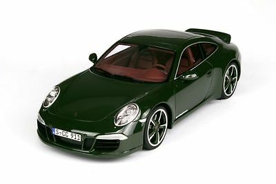 GT Spirit 2012 Porsche 911 / 991 Carrera S Club Coupe Green LE 3000 1:18*New*
