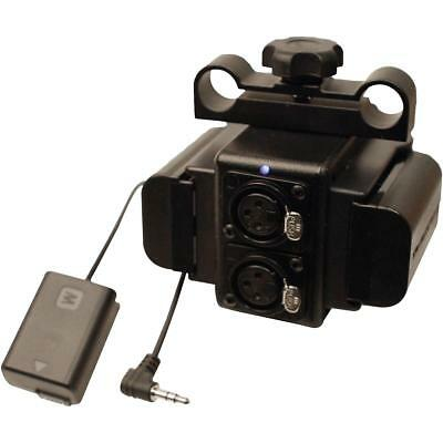 Indipro Power Grid  XLR Audio Box with Dual LP-E6 Plates for Sony a7 Camera
