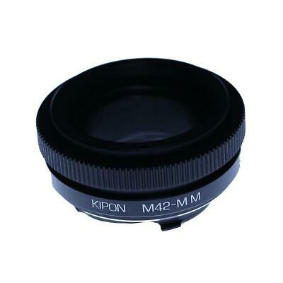 Kipon Pentax Screw M42 Lens to Leica M Camera Lens Adapter (with Macro Helicoid)