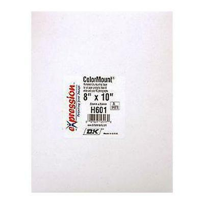 "DK Colormount Dry Mounting Tissue 8x10"" - 25 Pack #H601"