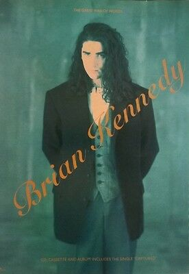 Brian Kennedy -  Music Press Advert For His 1990 Album 'great War Of Words'