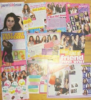 Fifth Harmony, Lot of TEN Full and Two Page Pinup Clippings