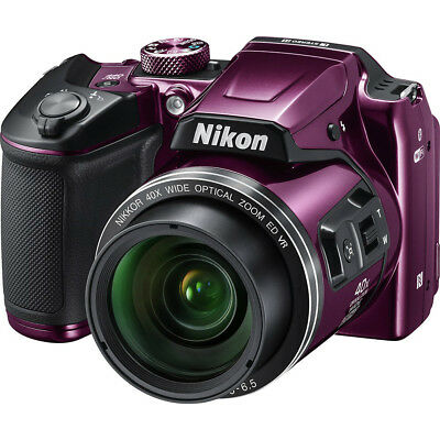 Nikon COOLPIX B500 Digital Camera (Plum) 26507