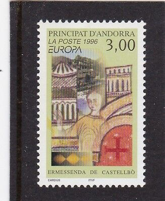 Andorra French #468 Mnh Europa Cept 1996 (Famous Women)