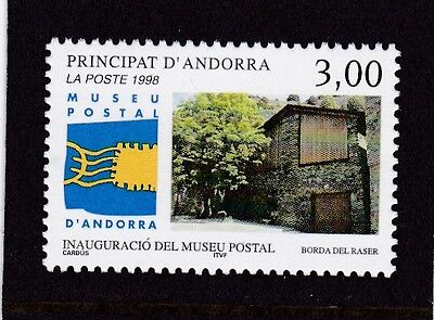 Andorra French #502 Mnh Inauguration Of Postal Museum