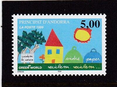 Andorra French #505 Mnh Promote Recycling