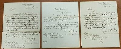RARE: Marines in the American Civil War. Payroll & Financial letters. IMPORTANT