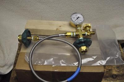 Broco PC/TFHBL Transfill Hose with Gauge and Bleed Valve NEW