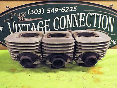Kawasaki H2 750 Cylinders Early Set High Cut 1972 1973 H2 H2A Left Center Right