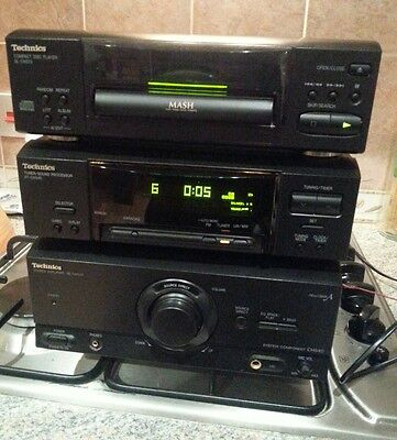 Technics cd player tuner  amp CH540 stack stereo hifi