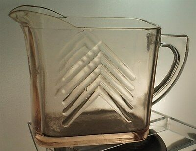 Vintage Depression Glass Creamer