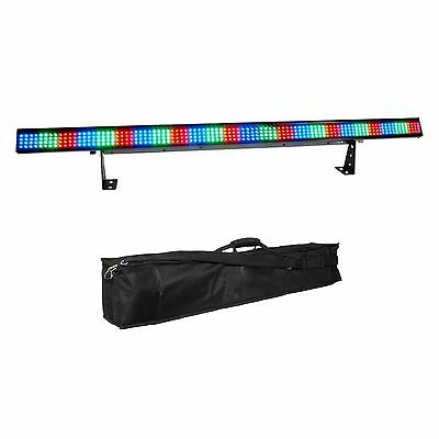 Chauvet DJ COLORstrip 4 Channel DMX LED RGB Light Bar Fixture + Soft Case Bag