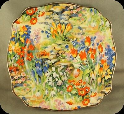 Royal Staffordshire Modern Mayflower Chintz Bread and Butter plate (3 available)