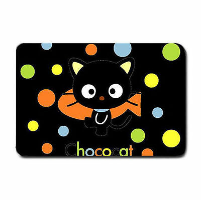 chococat black cat big eye wrinkle free soft topping vibrant soft table play mat
