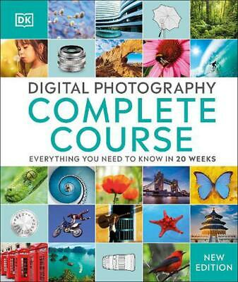 Digital Photography Complete Course by Tom Ang (English) Hardcover Book Free Shi
