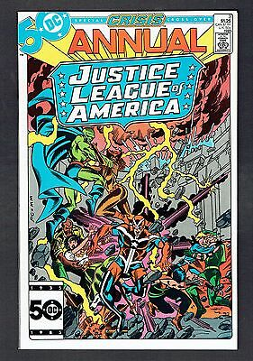 Justice League of America Annual #3 DC Comics 1985 NM- Special Crisis Cross-Over