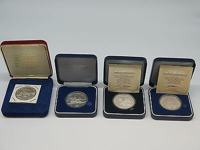 Western Samoa 4 Silver Proof Coins