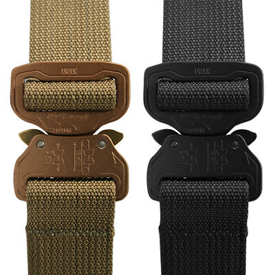 Elite Survival Systems CO Shooters Belt with Cobra Buckle, Tan, Medium CSB-T-M
