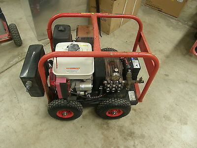 Spitwater HP201/SAE 3000 Psi Petrol Cold Water Pressure Washer