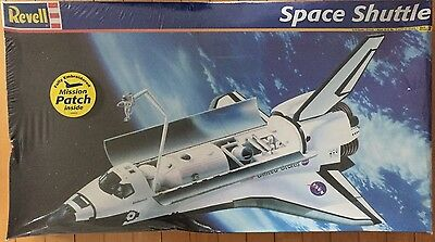 Revell Space Shuttle Model Kit 1:72 Scale Sealed Box - Embroidered Mission Patch