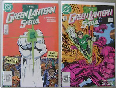 Green Lantern Special #1-2 Dc Comics Copper Age 1988 Nm Complete Set High Grade