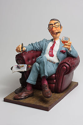 The Comic Art of Guillermo Forchino The Big Boss Figurine #85532