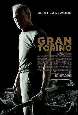 Gran Torino movie poster print : Clint Eastwood poster : 11 x 17 inches