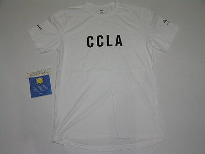Rapha Cycle Club CCLA Los Angeles T-Shirt White Men's Size Medium Limited LTD