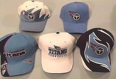 e61be3207 Tennessee Titans Select 1 Of 5 Nfl Licensed Adjust Touch Fastener Throwback  Cap