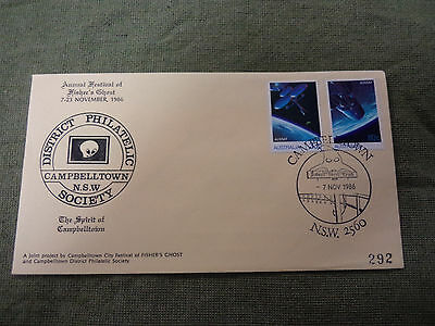 #d286. 1986 Campbelltown Philatelic Society Fisher's Ghost Cover