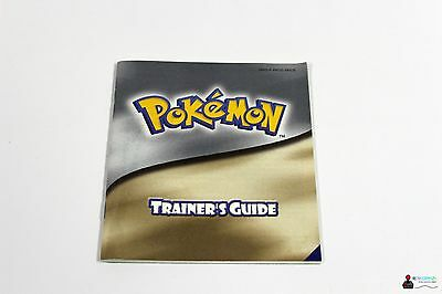 Nintendo GameBoy Color - POKEMON TRAINERS GUIDE - Silber Silver Gold - Anleitung