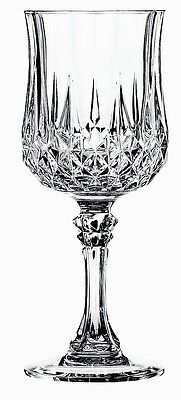 4 WEDDING Toasting Wine Glasses Lot Sturdy Hard Plastic Cut Crystal Goblets Set