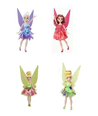 "Disney Fairies 9"" Fashion Doll Pixie Prints - Tinkerbell Rosetta Periwinkle"
