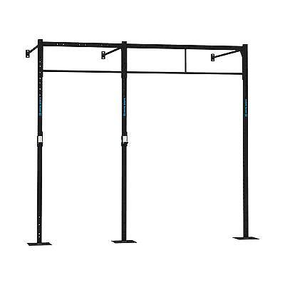 Station murale rack barre exercices 3x barre pull up montage mur cross training
