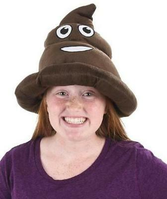 Poop Emoji Hat Fancy Dress Party Accessory - Funny Poo Gift *soft High Quality*