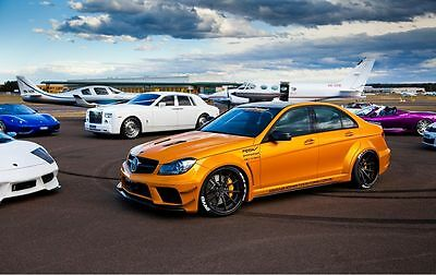 kit carrocería Mercedes Benz  W204 C63 AMG Black Series
