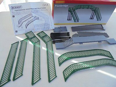 Hornby Railways 00 Gauge R076 Plastic Station Platform Footbridge Kit