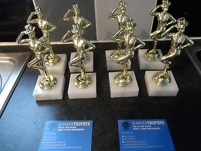 Joblot Of 8 - Gold - Stage Dance - Trophies - Free Engraved Plates