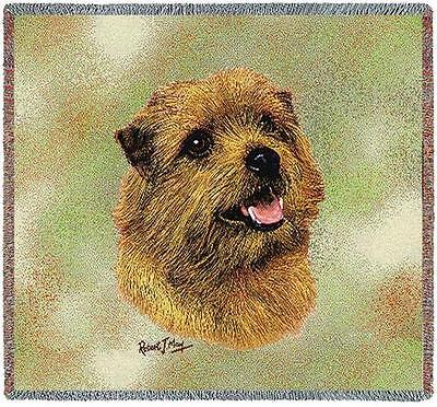 Lap Square Blanket - Norfolk Terrier by Robert May 6366