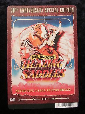 Blazing Saddles movie backer card - Mel Brooks (this is not a movie)