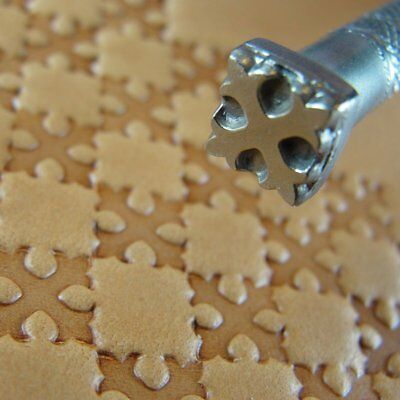 James Linnell - Cross Geometric Stamp (Leather Stamping Tool)