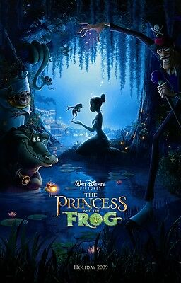 Walt Disney's The Princess and the Frog movie poster (a)  : 11 x 17 inches