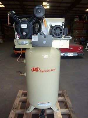 NEW Ingersoll Rand Air Compressor 80 gallon CBV407080 Model 2475 2475n5grainger