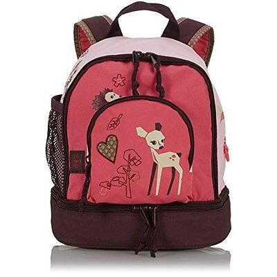 Lassig Kids Backpack Pre-School Kindergarten with chest strap, name badge and dr