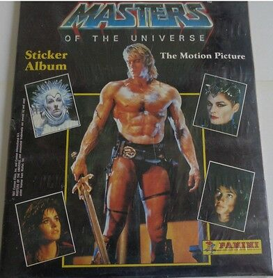Panini Masters Of The Universe Movie 1987 Album Complete Stickers Set He Man