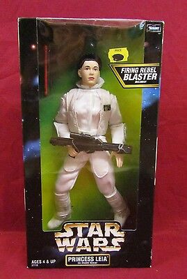 1998 Kenner Star Wars Action Collection Princess Leia Hoth Gear New In Box