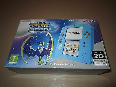 Nintendo 2DS Pokemon Moon Limited Edition Console (Game Pre-Installed) **NEW**