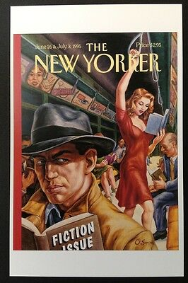 POSTCARD FROM THE NEW YORKER - June 26 & July 3 1995 Cover Postcard (NEW)