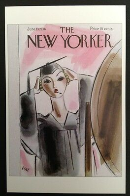 POSTCARD FROM THE NEW YORKER - June 13, 1936 Cover Postcard (NEW)